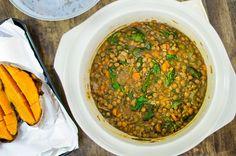 Slow Cooker Lentil Soup 2