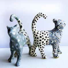 Accessories, gifts, hand-painted silks, prints and cards by internationally acclaimed textile designer, Sarah Campbell co-founder of the renowned design partnership Collier Campbell. Sarah Campbell, Textile Design, Giraffe, Lion Sculpture, Hand Painted, Colours, Statue, Cats, Grey