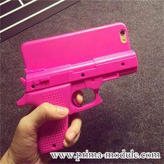 Coole Pistole Design Silikon Handyhülle für iphone 5/5S, iphone 6/6Plus - Prima-Module.Com