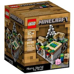 LEGO Minecraft Micro World The Village Building Set oh my my!! My babies would die if they see this!