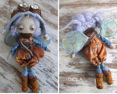 Orla, a one of a kind little steampunk sand doodle dune bug Vintage Cotton, Vintage Lace, Dee Day, Pixie Ears, Bug Art, Little Doodles, Dune, Art Dolls, Steampunk