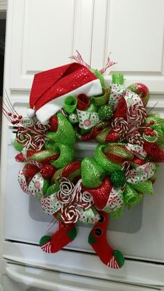 Elf Wreath by One Wreath at a Time, sells for only $65.