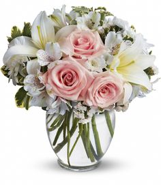 Thank You Flowers, Fast Flowers, Flowers Today, Silk Flowers, Winter Bouquet, Winter Flowers, Flower Meanings, Light Pink Rose, Order Flowers Online