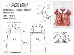 Ideas Baby Dress Sewing Tuto Robe For 2019 Kids Dress Patterns, Baby Clothes Patterns, Baby Patterns, Baby Sewing Projects, Sewing For Kids, Blog Couture, Diy Dress, Baby Girl Dresses, Toddler Dress
