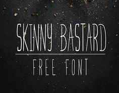Here is a super nice and skinny new hand write font by Marcelo Reis Melo and Free Goodies for Designers. Great font for headlines, full of personality, and a lot of energy. Formats: TTF & OTF