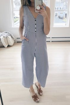 Top Amazon Finds for Spring | Striped Jumpsuit