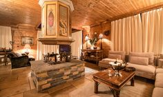 Chalet Hermine is a luxury ski chalet in Courchevel 1850 exclusively run by Kaluma Ski. A traditional 6 bedroom chalet with hot tub. Courchevel 1850, Jacuzzi Hot Tub, Ski Chalet, Open Fires, Spacious Living Room, Luxury Holidays, Lodges, Master Bedroom, Sleep