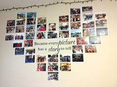 Image result for wall photo collage ideas without frames