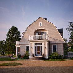 Gambrel Shingle Cottage - Penelope Daborn Ltd.