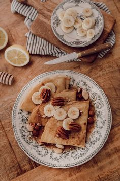My light pancake recipe without butter and almond milk sugar - * Cook * - Mode Pancake Recipe Without Butter, Veggie Recipes, Sweet Recipes, Good Food, Yummy Food, Healthy Food, Cooking Time, Just Desserts, Cravings