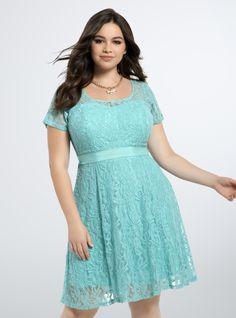 Torrid Lace Illusion Dress