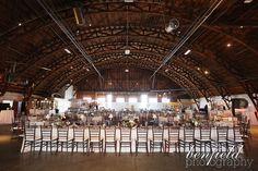 art deco wedding reception details