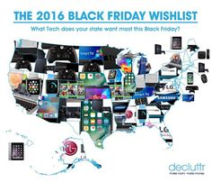 What tech does your state want most this Black Friday?