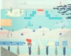 An illustration from OMA's submission to the Parc de la Villette competition. Credit: OMA