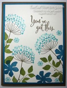 Sympathy Card Stamp-a-Stack: Sparkly Summer Silhouettes