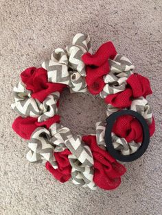 Ohio State Wreath on Etsy, $32.00