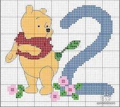 Winnie Poo 2: punto cruz