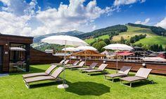 Premium All Inclusive Alpinresort in Saalbach Spa Hotel, All Inclusive, Bergen, Outdoor Furniture, Outdoor Decor, Sun Lounger, Sport, Inspiration, Ski Trips