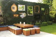 Garden Design: Reflections on Using Mirrors in Your Outdoor Space - Eclectic Patio by Cool Gardens Landscaping Ltd