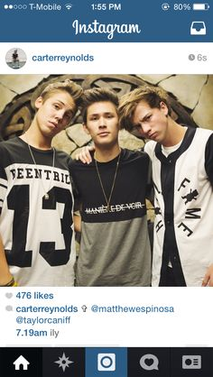 matt, carter, & taylor why are they sooo..... atractive like i could die from there atractiveness...!!!!