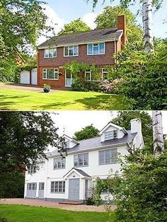 Before And After House Exteriors Uk Google Search