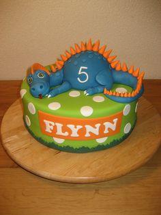 Dino Taart cakepins.com