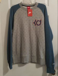 NEW Nike Kevin Durant KD BB AW77 Basketball Crew Sweatshirt Sweater 653706  427  Nike   db85fb797