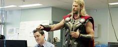 Noticias de cine y series: Capitán América: Civil War: Un vídeo revela qué estaba haciendo Thor durante la Guerra Civil de Marvel