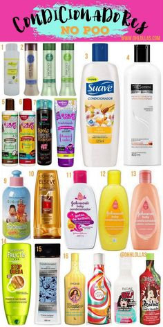 NO POO: 50 Produtos para Co-wash e Condicionadores Liberados Loose Curly Updo, Curly Hair Updo, Curly Hair Tips, Curly Hair Care, Curly Hair Styles, Natural Hair Styles, Makeup Life Hacks, Hair Hacks, Bed Head Foxy Curls