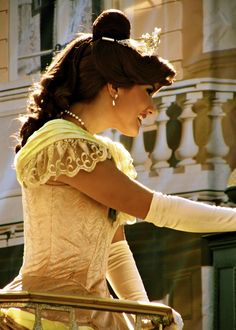 If this whole education thing doesn't work out... totes being Belle at Disney World