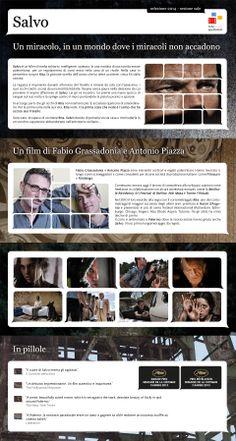 """Gli #infoposter della Rete degli Spettatori : """"Salvo"""", il film rivelazione di Cannes 2013,  nell'infografica della Rete degli Spettatori"""