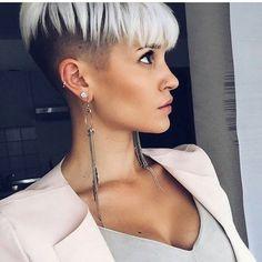 erstaunlich kurze Haare gelbe Haare färben, 2017 Frisur, Kurze Haare 2017