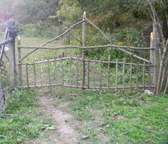 Love this gate from Homestead Blessings
