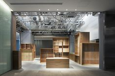 Floyd KITTE Marunouchi shop by Jo Nagasaka/Schemata Architects. Marunouchi Chiyoda Tokyo