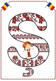 Alfabetul românaşilor - Logorici The Magicians, 1 Decembrie, Origami, Playing Cards, Symbols, Letters, Art, Folklore, Craft Art