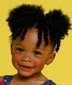 Fischer-White Fischer-White Fischer-White Fly- Afro Puffs for CPF ! Two Ponytails Black Baby Hairstyles, Natural Hairstyles For Kids, Natural Hair Styles For Black Women, Little Girl Hairstyles, Cute Hairstyles, Infant Hairstyles, Childrens Hairstyles, Hairstyles Pictures, Ponytail Hairstyles
