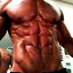 Wow! Now those are some abs! #abs #deerantlerspray #ripped #shredded #fitness #workout