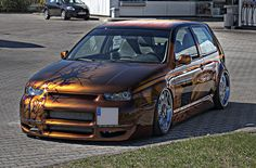 2001 Volkswagen Golf GTI | VW Golf IV 1.8 Turbo GTI Airbrush Tuning Car - HDR | Flickr - Photo ...