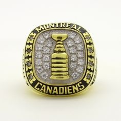1960 Montreal Canadiens Stanley Cup Championship Ring