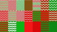 Chevron Christmas Digital Background Papers - Freebie