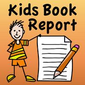 Kids Book Report - a great iPad app for writing book reports