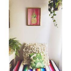 Pineapple on pink 👌🏽