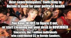 #BernieOrBust #StillSanders