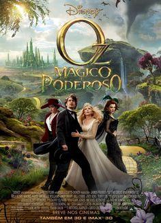 Um filme de Sam Raimi com James Franco, Mila Kunis : Oscar Diggs (James Franco) trabalha como mágico em um circo itinerante, é bastante egoísta, mas é seu envolvimento com mulheres que o acaba levando para uma mágica aventura na Terra de Oz. Chegando lá, ele conhece a bruxa Theodora (Mila Kunis), que o...