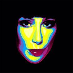Cher pop art