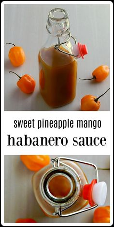 Yes, it's sweet at first taste - but wait for it! This will blow you away! Mango Habanero Salsa, Pineapple Habanero Sauce, Mango Sauce, Mango Habanero Bbq Sauce Recipe, Hot Sauce Recipes, Pineapple Recipes, Canning Recipes, Juicer Recipes, Tuna Recipes