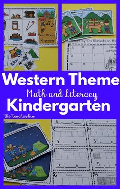 Nothing says FUN like a Western themed resource.  The kiddos will love all the  cowboy & cowgirl activities in this 5 day unit. The resource is packed with math and literacy activities and games.  They can be played in small groups and large classroom activities. Yee Haw get ready for all the fun! Alphabet Phonics, Phonics Games, Math Literacy, Classroom Activities, Abc Games For Kids, Halloween Party Themes, Sight Word Activities, Back To School Activities, Western Theme