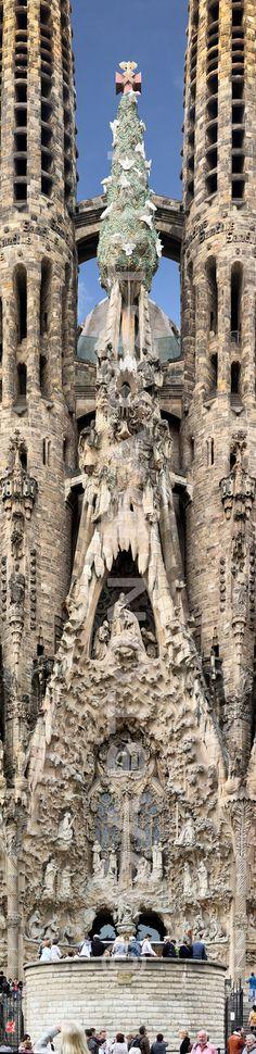 Sagrada Família, Barcelona , Spain ( FULL SIZE! 19216x4671… | Flickr