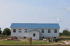 Construction of Amish School Building