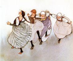 The Swineherd, illustrated by Lisbeth Zwerger